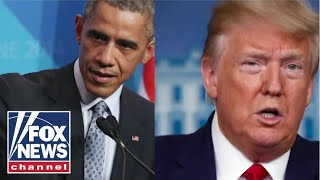 'The Five' get into heated argument over Trump, Obama feud