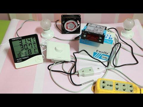 Homemade incubator, testing incubator system control, how ewelly 988h work in incubator