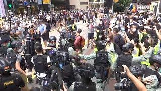Mii de manifestanţi la Hong Kong împotriva legii chineze privind securitatea