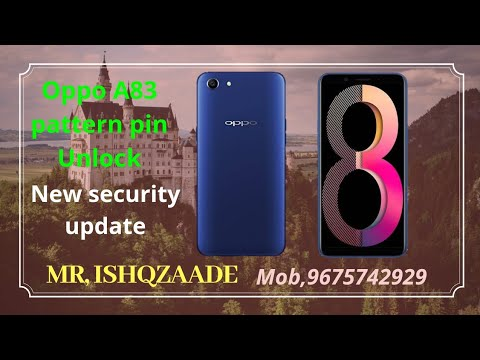 Download How To Remove Sreen Lock Oppo A83 Cph1729 11 A 24