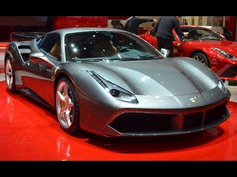 Ferrari 488 GTB - 2015 Geneva Motor Show