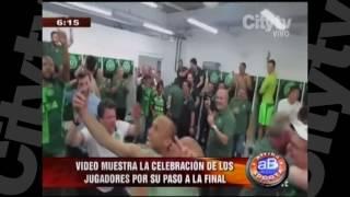 Mira cómo fue la última celebración del Chapecoense