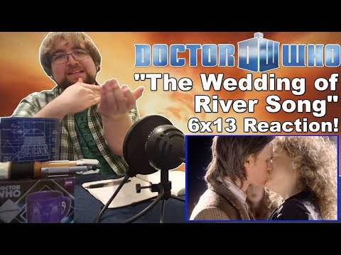 """Doctor Who (6x13): """"The Wedding of River Song""""   Finale Reaction"""