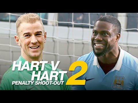 Kevin Hart vs Joe Hart (Penalty Shootout)
