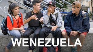 Wenezuela - imprezy, młodzi ludzie w Caracas