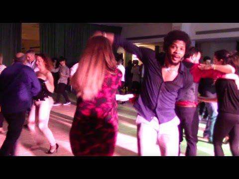 Terry SalsAlianza Social dancing and singing | Por que yo en el amor soy un idiota - Santa Rosa