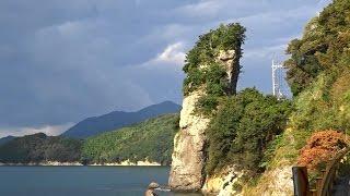 周防大島散策パワースポット立岩