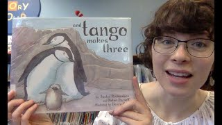 Virtual Story Time with Miss Abbey – And Tango Makes Three