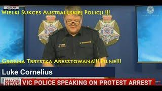 Grozna trrystka aresztowana w Australii! Pilne! Musisz to wiedziec! Oryginal co napisala w twitter!