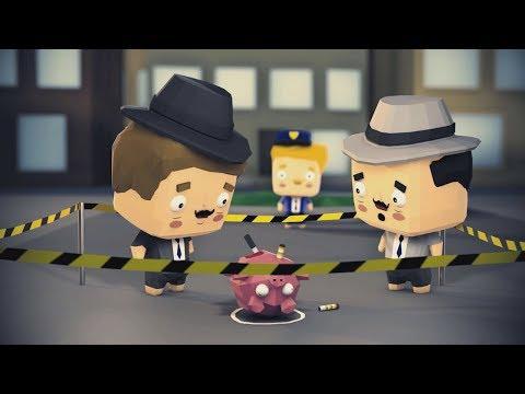Animace Agenti GEJMR a Pedro - Záhada zavražděné prase