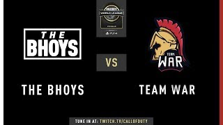 The Bhoys vs Team WaR | CWL Finals 2019 | Day 3
