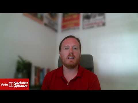 Dirk Kelly - Vote Anti Capitalist - Vote 1 Socialist Alliance