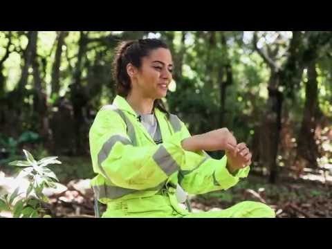 The Green Inferno (Behind the Scene 'Lorenza Izzo Working in the Amazon')