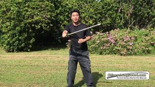 More Efficient Way Of Blocking With The Chinese Broadsword