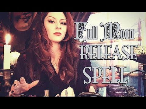 Full Moon Release Spell Magick~ The White Witch Parlour
