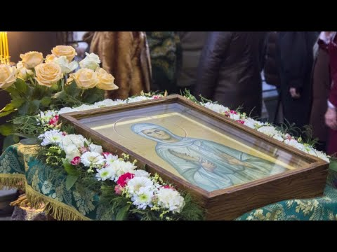Тропарь , кондак , молитва и Величание Блаженной Валентине Минской .