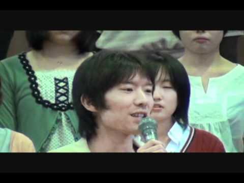 【早稲田の街Spring Concert 2012】 メガピース 1/2 (入場・発声・挨拶)