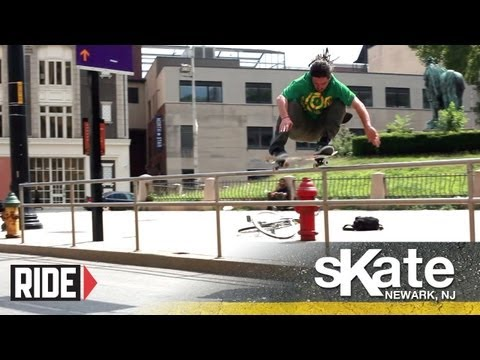 SKATE Newark, NJ with Quim Cardona