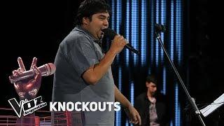 Knockout #TeamAxel: Lucas Belbruno vs Pedro Culiandro Rios - La Voz Argentina 2018