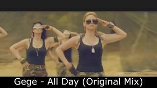 Gege   All Day (Original Mix)