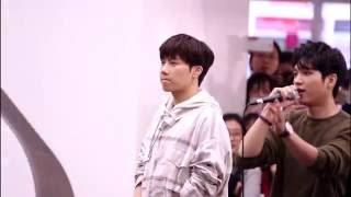 161009 코엑스 팬싸인회 성규 - 엔딩멘트&대기하는 씹덕이ㅠ