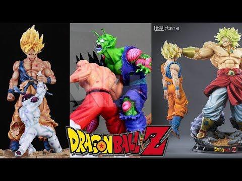 Estatuas Nivel Dios /  Dragon ball las mejores estatuillas de Resina