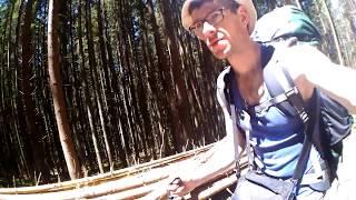 Мой одиночный поход в Карпаты (Горганы) Вышков-Осмолода 6-9 июля 2017 - ДЕНЬ2
