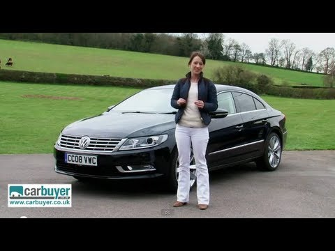 Volkswagen CC saloon review - CarBuyer