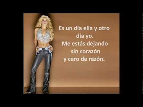 Te aviso,  te anuncio-  Shakira.  Lyrics HD