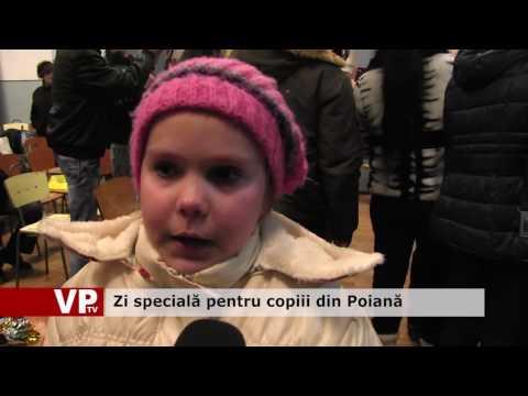 Zi specială pentru copiii din Poiană