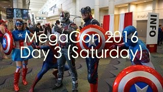 MegaCon Day 3 (Saturday): Vendors, CosPlay, A Geek Wedding, & Costume Contest!!