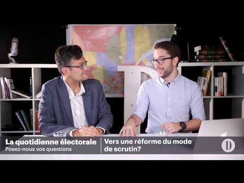 La quotidienne électorale: vers une réforme du mode de scrutin?