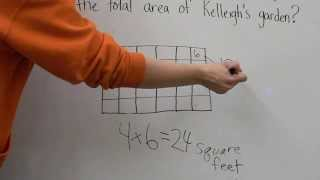 3rd Multiplication with Area Model