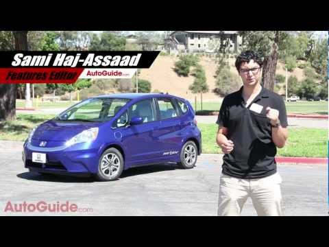2013 Honda Fit EV Review