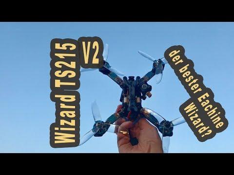 Eachine Wizard TS215 Version 2 with Runcam - best Wizard