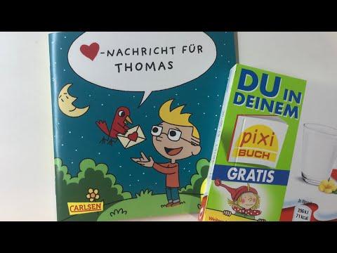 pixi Buch Nachricht Für Thomas von kinder Schokolade
