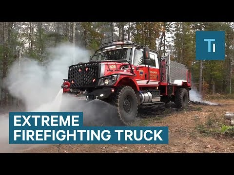 This truck takes firefighting to the next level