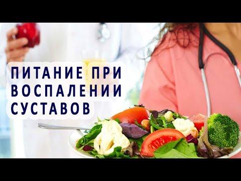 Питание при воспалении суставов