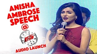 Anisha Ambrose Speech at Run Audio Launch