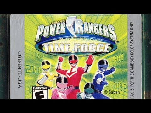power rangers time force gba codes