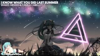 Nightcore - I Know What You Did Last Summer