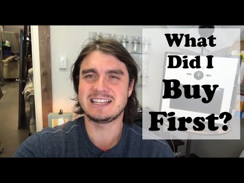 Becoming an Event Rental Business - What We bought First