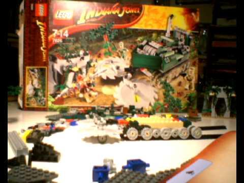 Vidéo LEGO Indiana Jones 7626 : Le débroussailleur de la jungle