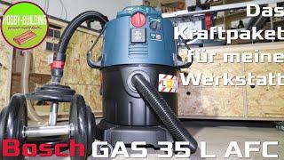 Bosch GAS 35 L AFC Industriestaubsauger | Dust Extraction