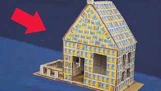 GIANT MATCHBOX HOUSE - DIY