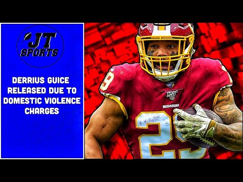 Derrius Guice Released By Washington Due To Domestic Violence Charges | NFL