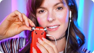 ASMR VERY Tingly ~SkSk~ with Tascam Tapping and Scratching for Tingles