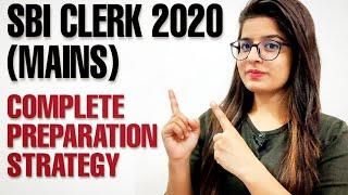 SBI CLERK 2020 MAINS PREPARATION STRATEGY | BANKING BASTA 2.0