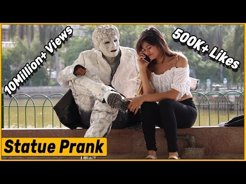 Epic Statue Prank - Ft. SA Wardega | The HunGama Films