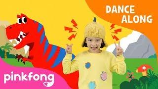Best Hunter, T-Rex   Dinosaur Song   Dance Along   Pinkfong Songs For Children